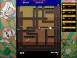 Namco All-Stars: Pac-Man and Dig Dug Windows Dig Dug enhanced mode: inflating a Fygar.