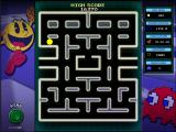Namco All-Stars: Pac-Man and Dig Dug Windows Pac-Man enhanced mode: level complete