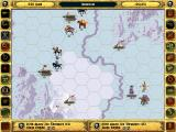 Fantasy General DOS Playing a single scenario as the bad guy - winter scenery