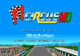F1 Circus '91 Genesis Title screen