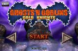 Ghosts 'N Goblins: Gold Knights iPhone The title screen