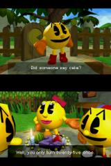 Pac-Man World 3 Nintendo DS Part of the first cutscene: Happy Birthday, Mr. Pac-Man! =D
