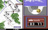 Winter Games Commodore 64 The bobsled
