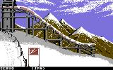 Winter Games Commodore 64 Ski jump