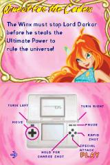 Winx Club: Quest for the Codex Nintendo DS Some control explanations before the first level...