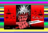 R.A.M. Amstrad CPC Loading screen