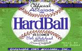 HardBall! Commodore 64 Title screen