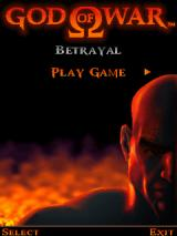 God of War: Betrayal J2ME Main menu
