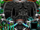 Wrath of Earth DOS the game also contains some Giger-style graphics ...