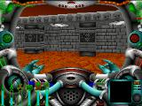 Wrath of Earth DOS ... or some Doom-style graphics at the outside of the alien temple