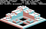 Crystal Castles Commodore 64 Title screen