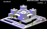 Crystal Castles Commodore 64 One of the numerous, gem filled castles