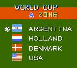Goal! NES Selecting from the four World Cup playing teams.