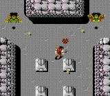 Ikari Warriors II: Victory Road NES Shooting some harpies while picking up hearts.