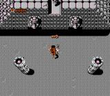 Ikari Warriors II: Victory Road NES After the boss if defeated you've gotta pick up the key.