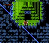 Ikari Warriors II: Victory Road NES A large body of water needed to be passed in order to get to this pyramid.