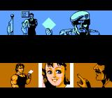 Ikari III: The Rescue NES The intro cut-scene shows the plan to kidnap the Presidential candidate's daughter.