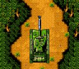 Ikari III: The Rescue NES Your tank... about to blow up.
