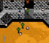 Ikari III: The Rescue NES Watch for falling boulders.