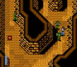 Ikari III: The Rescue NES Inside the caverns.