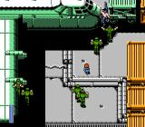 Ikari III: The Rescue NES An intense fight in the hangar.