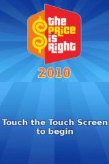 The Price is Right: 2010 Edition Nintendo DS Title screen.