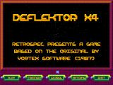 Deflektor X4 Windows Main menu