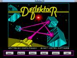 Deflektor PC Windows 3.x Main menu (Spanish)