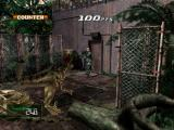 Dino Crisis 2 Windows Using a shotgun to blast your way outta water pump area.