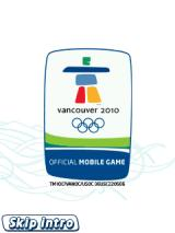Vancouver 2010: Official Mobile Game of the Olympic Winter Games J2ME Title screen