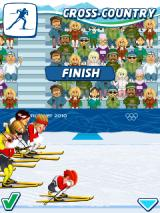 Vancouver 2010: Official Mobile Game of the Olympic Winter Games J2ME Crying over the poor performance
