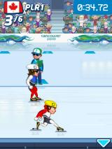 Vancouver 2010: Official Mobile Game of the Olympic Winter Games J2ME Stretching out