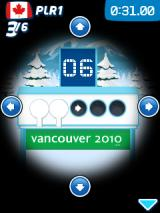 Vancouver 2010: Official Mobile Game of the Olympic Winter Games J2ME I have to press the button that shows in the target.