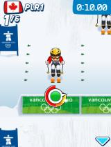Vancouver 2010: Official Mobile Game of the Olympic Winter Games J2ME Getting ready to jump