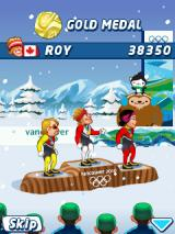 Vancouver 2010: Official Mobile Game of the Olympic Winter Games J2ME Medal ceremony