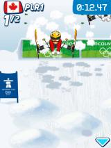 Vancouver 2010: Official Mobile Game of the Olympic Winter Games J2ME Doing a trick