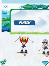 Vancouver 2010: Official Mobile Game of the Olympic Winter Games J2ME That went well at least