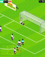 Actua Soccer 2006: International Edition J2ME The keeper almost grabs it