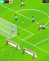 Actua Soccer 2006: International Edition J2ME A shot on goal