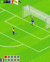 Actua Soccer 2006: International Edition J2ME Penalty shootout