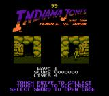 Indiana Jones and the Temple of Doom NES Level transitions.