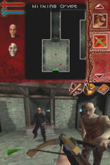 Buffy the Vampire Slayer: Sacrifice Nintendo DS Ingame - first-person fighting