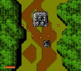 Iron Tank: The Invasion of Normandy NES Fighting a mid-level boss.