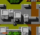 Iron Tank: The Invasion of Normandy NES Rescuing a hostage.