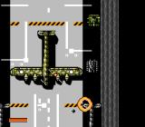 Iron Tank: The Invasion of Normandy NES Inside a hangar.