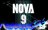Nova 9: The Return of Gir Draxon DOS Title screen (EGA)