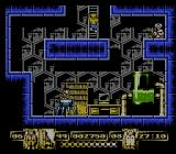 James Bond Jr NES A nicely detailed lab and kidnapped scientician.