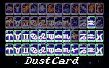 Star Platinum PC-98 The cards are all based on astrological symbols.
