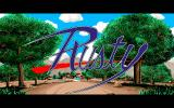 Rusty PC-98 Title in the opening sequence