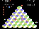 Q*bert ColecoVision Running from the snake...